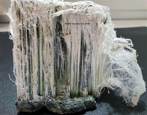 museum sample  chrysotile white asbestos