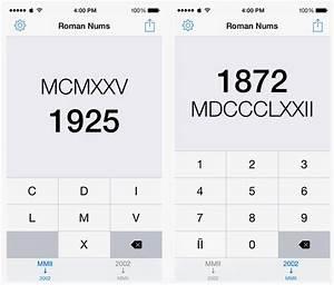20 En Chiffre Romain : comprenez les chiffres romains avec romans nums pour iphone ~ Melissatoandfro.com Idées de Décoration