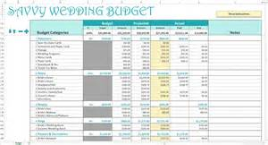 budget wedding savvy wedding budget excel calendar savvy spreadsheets