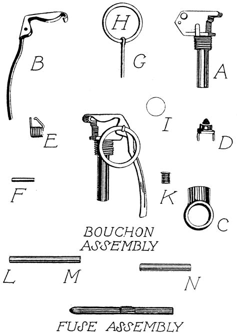 Grenade Parts  Clipart Etc