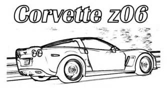corvette coloring pages printable coloring pages - Corvette Coloring Pages Printable