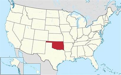 Oklahoma States United Map Usa State Geography