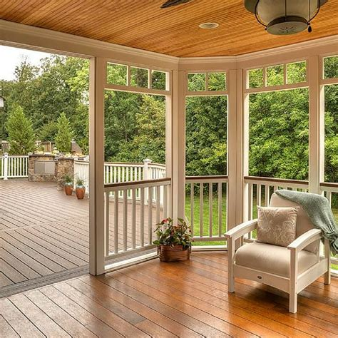 125 best screened in deck and patio ideas images on