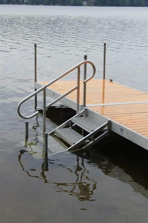 photo gallery aluminum dock stairs boat docks