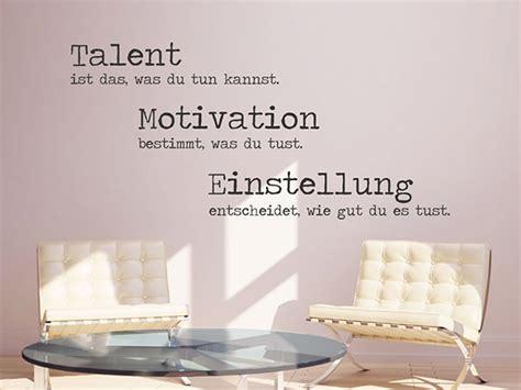 wandtattoo talent ist das was du tun kannst