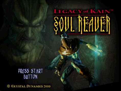 Legacy Of Kain Soul Reaver 2000 By Crystal Dynamics
