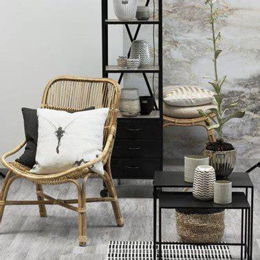 des meubles en rotin dans la déco contemporaine