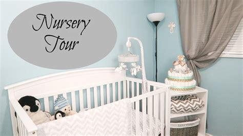 Baby Boy Nursery Tour Youtube