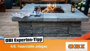 Feuerfeste Steine Für Grill : feuerstelle selber bauen experten tipp von obi projekt wunschgarten youtube ~ Whattoseeinmadrid.com Haus und Dekorationen