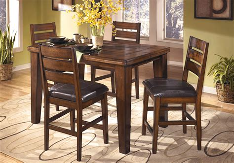 counter height table height larchmont 5pc counter height dining set lexington