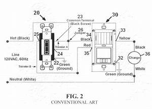 patent us7791282 motion sensor switch for 3 way light With wiring diagram likewise lutron occupancy sensor wiring diagram on