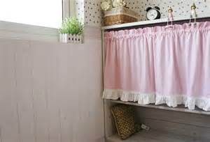 french country pink polka dot cafe kitchen curtain 001 ebay