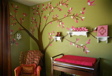 Kinderzimmer Wandgestaltung Baum by Why Am I Always So Tired Nursery Tree Murals