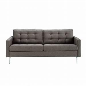 Sofa 4 Sitzer Stoff : sofa 2 3 sitzer aus stoff grau victor maisons du monde ~ Bigdaddyawards.com Haus und Dekorationen
