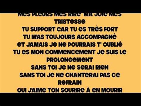 maman je taime lyrics tres chanson