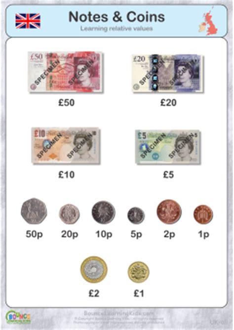 money uk pound set  bounce learning kids