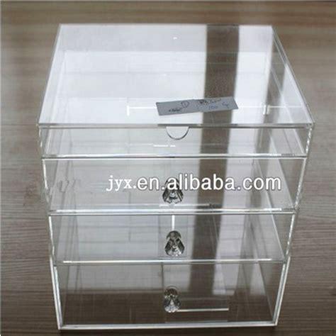 boite de rangement maquillage acrylique plexiglas acrylique rectangle bo 238 te maquillage acrylique bo 238 te de rangement support d affichage