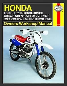 Haynes Repair Manual  Honda Xr Crf 4