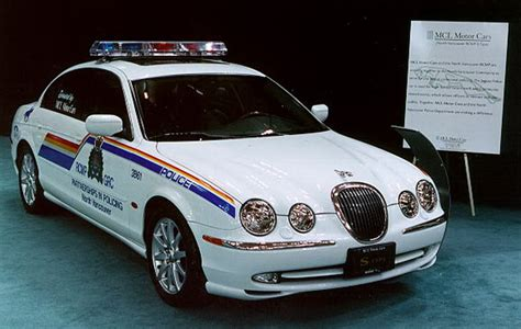 Jaguar S Type R Police Car, Wooohooo!