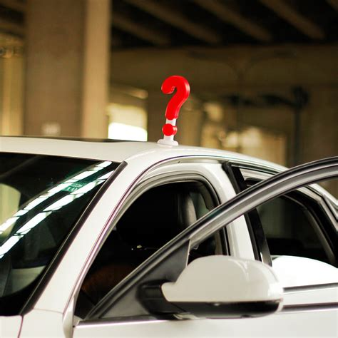 Wentongzi® 20cm Adorable Solid Question Mark Type Car Roof