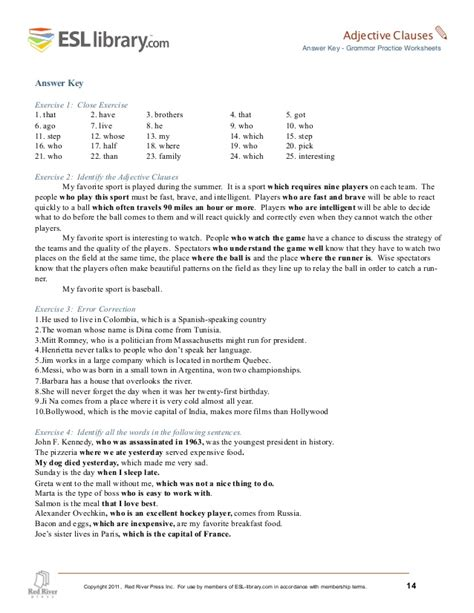 esl library grammar practice worksheets worksheets