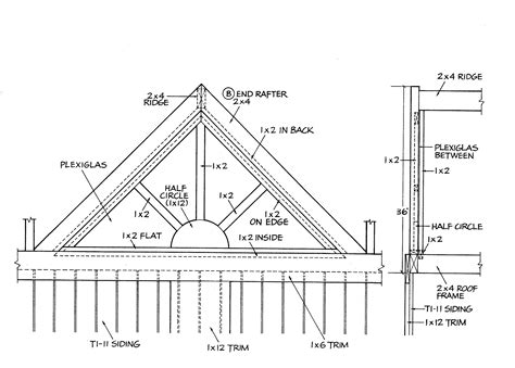 gable roof plans google images