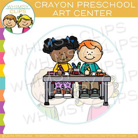 crayon clipart preschool learning pencil   color