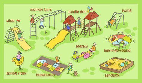 playground vocabulary english vocabulary vocabulary