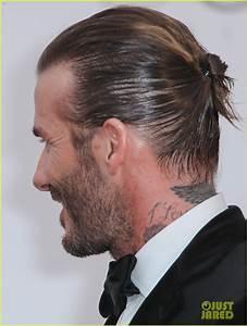 David Beckham Pulls His Hair Back for amfAR Cannes Gala ...