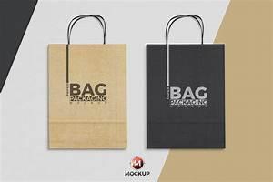 Paper Bag Mockup To Showcase Packaging Designs - Mockup Planet