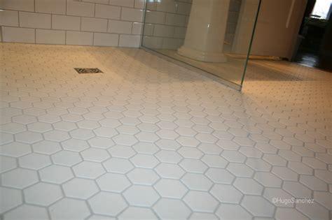 hexagonal mosaic ceramiques hugo sanchez