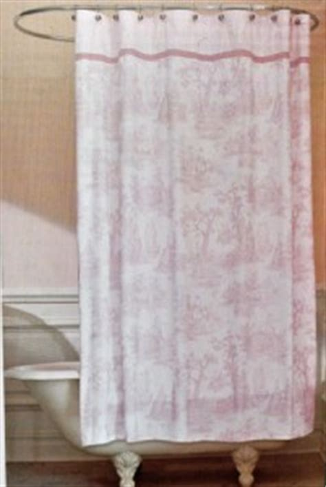 waverly toile shower curtain fabric pink country