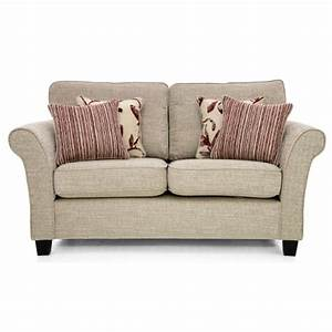 casa lucille small 2 seater sofa high back corinne beige With small beige sectional sofa