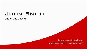 21 red business cards free printable psd eps word for Business card pdf