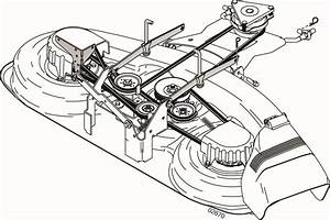 Need Craftsman 46 Ez3 Mulching Deck Belt Diagram