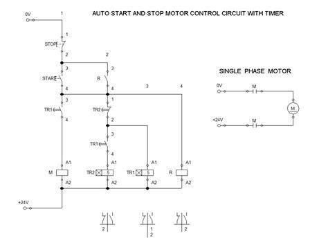 Magnetic Across The Line Starter Auto Start Stop