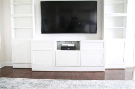 Ikea Besta Custom by How To Design Install And Add Trim To An Ikea Besta