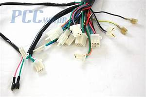 Chinese Gy6 150cc Wire Harness Wiring Assembly Scooter Moped Sunl Roketa H Wh07