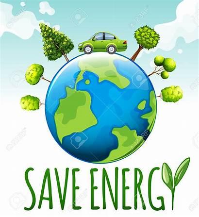 Energy Theme Save Conservation Saving Trees Warming