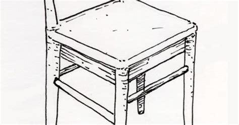 dessin d une chaise mobilier table dessin d une chaise