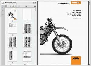 Ktm 250 Exc-f Xcf-w  2013  - Service Manual