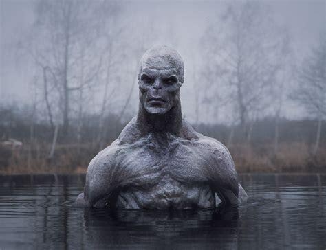 ArtStation - Water monster, Roman Anohin