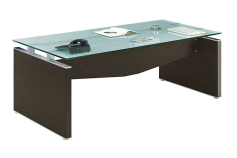 bureau bois verre bureau verre et bois neuf adopte un bureau