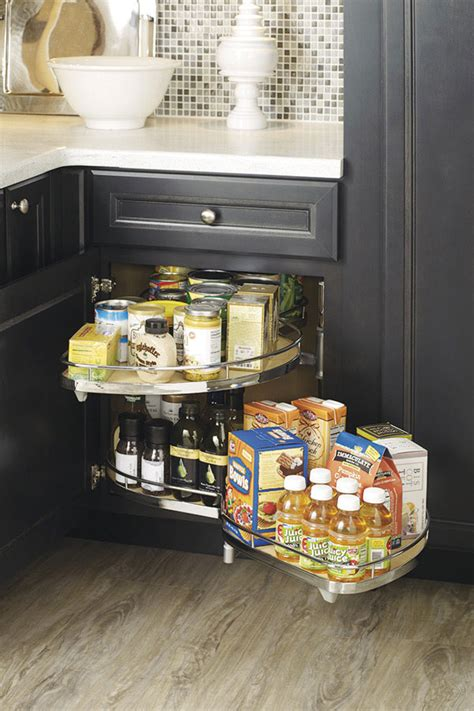 thomasville organization base corner  curved pullout