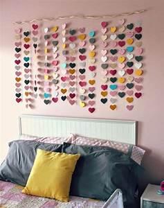 Guirlande Chambre Fille : 1001 id es tutoriels et id es pour votre diy d co chambre ~ Teatrodelosmanantiales.com Idées de Décoration