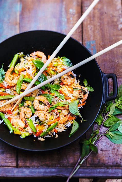food inspiration thaïlande riz sauté aux légumes