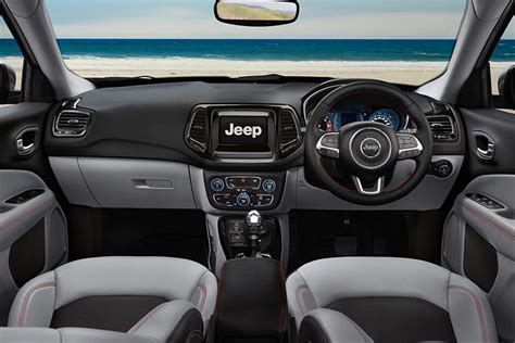 jeep compass rear interior jeep compass launched in india at inr 14 95 lakh autobics