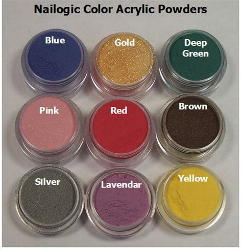 acrylic powder colors acrylic colored nail powder nail ftempo