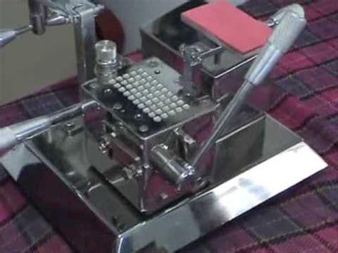 gelatine capsule filling machine   capsules youtube