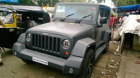 indian jeep mahindra modified mahindra thar to wrangler my youtube videos